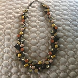 ANN TAYLOR LOFT Multi-color Necklace mixed jewels
